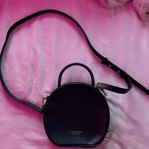 Navy blue circle Kate Spade Bag/Purse
